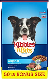 Kibbles 'n Bits Original Savory Beef & Chicken Flavors Dry Dog Food, 50 Lb
