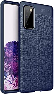 YSJ AYY For Samsung Galaxy S20 FE 5G Litchi Texture TPU Shockproof Case (Color : Navy Blue)