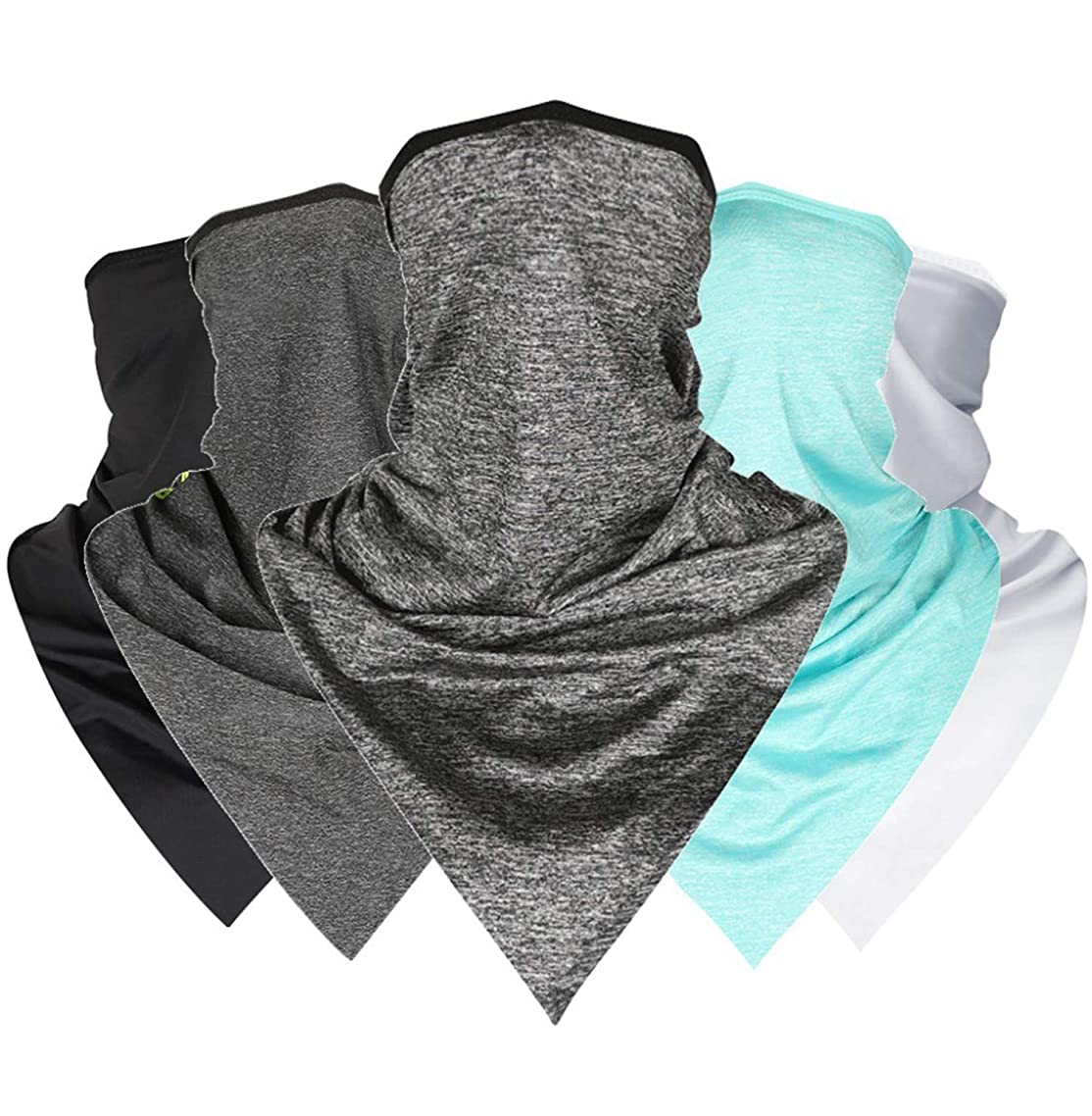 Summer Face Scarf Mask Cycling Face Bandana Cool Scarf Outdoor Sports Bicycle Headband Face Mask UV Protection