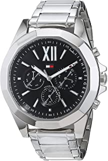 Tommy Hilfiger Womens Quartz Watch, Analog Display and Stainless Steel Strap 1781844