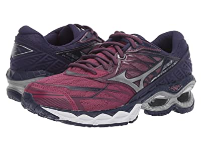 Mizuno Wave Creation 20 (Purple Potion/Silver) Women