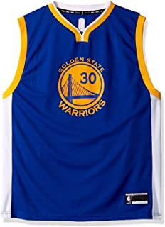 bf5ba6afdd7 Outerstuff Stephen Curry Golden State Warriors #30 Blue Youth Road Replica  Jersey