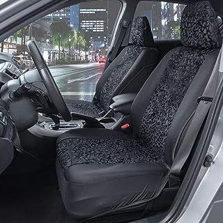 2 pi/èces//Ensemble en Cuir de qualit/é sup/érieure pour Mercedes Benz Smart 453 fortwo 2015-2018 Accessoires de d/écoration int/érieur XYWD Housses Car Seat Covers Ensemble Complet de protecteurs