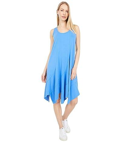 Mod-o-doc Cotton Modal Spandex Jersey Swirl Seam Tank Dress