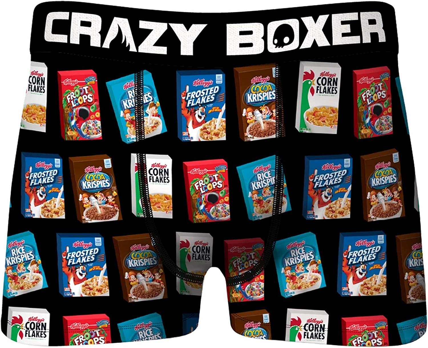 Crazy Boxers Kellogg's Cereal Boxers Variety Boxer Briefs