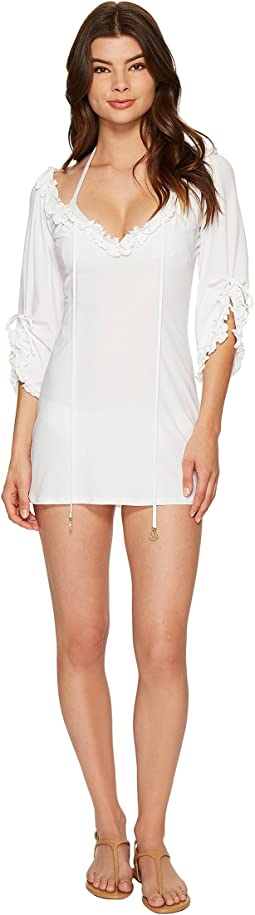 Luli Fama - Cosita Buena Ruffle V-Neck Dress Cover-Up