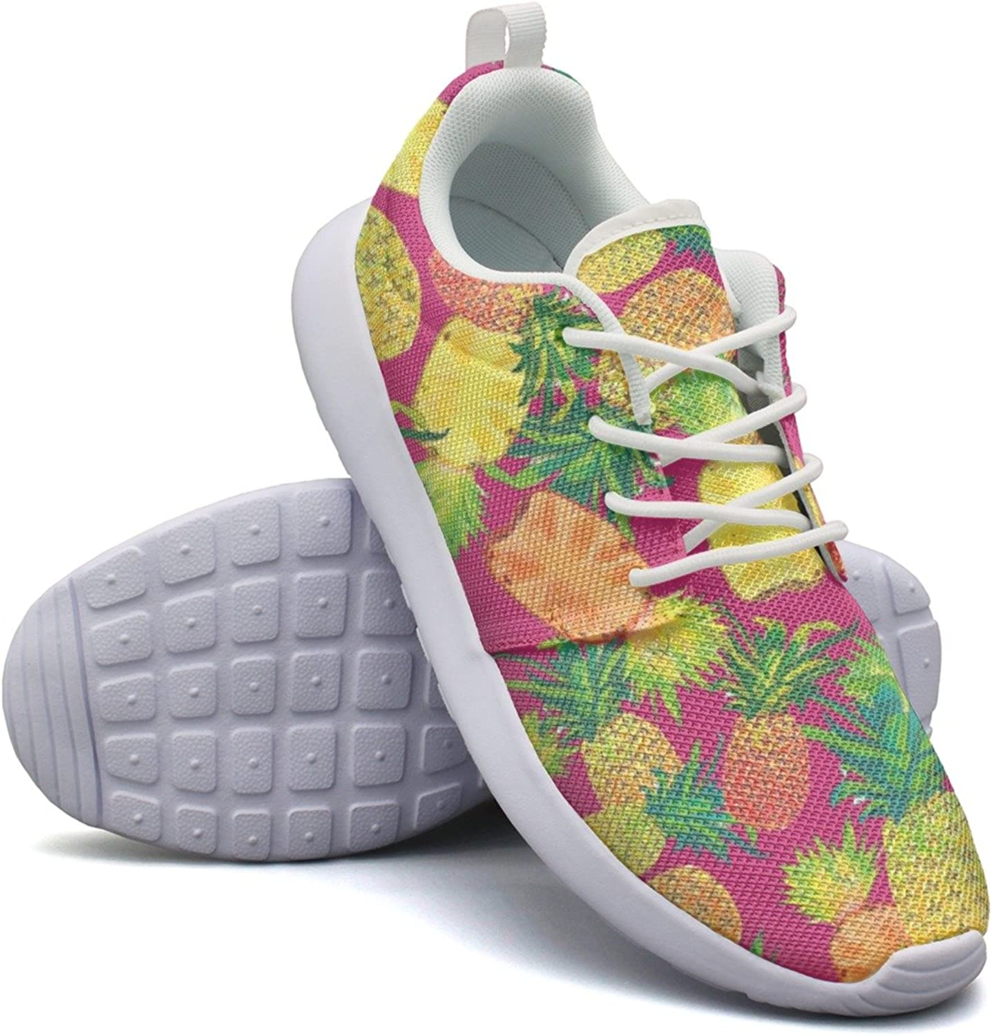 Womens Pineapple Slices colorful Cool Hunting Fashion Running shoes