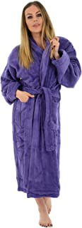 MyShoeStore 100% Luxury Egyptian Cotton Towelling Bath Robe Dressing Gown Terry Towel Soft Touch Bathrobe Housecoat