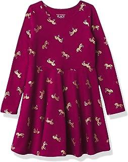 فستان كاجوال للفتيات الرضع والأطفال الصغار يونيكورن سكيتر من ذا كيدز بليس