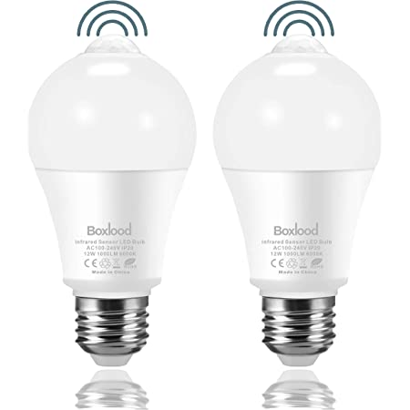 10 Watt LED Lampe Glühbirne mit Eingebauten Pir Motion Sensor E27 Multi Angebot