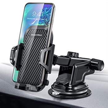 Car Phone Mount Anti Slip Universal Sticky Vehicle Cradle Stand for iPhone X Xs Max 8 7 6S Plus Galaxy S10 S9 Note LG Google Pixel Garmin Tomtom GPS Dashboard Mount 4-9inch Cell Phone Holder for Car