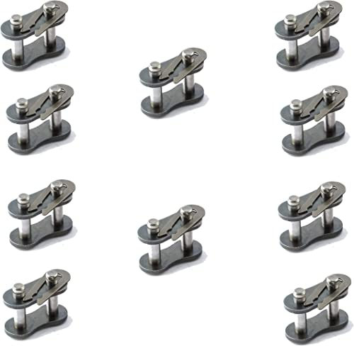 #40 Roller Chain Connecting Links (10 Pack)