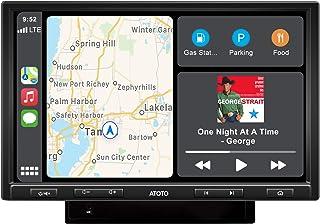 Receptor estéreo para carro ATOTO 10 polegadas F7G210PE-F7 Pro CarPlay e receptor Android Auto com Bluetooth,HD LRV (retro...