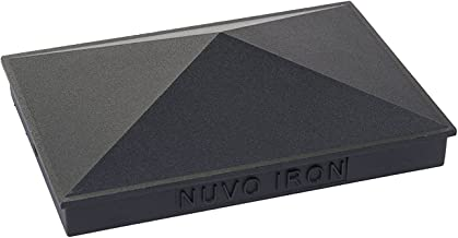 Nuvo Iron Decorative Pyramid Aluminium Post Cap for 3.5