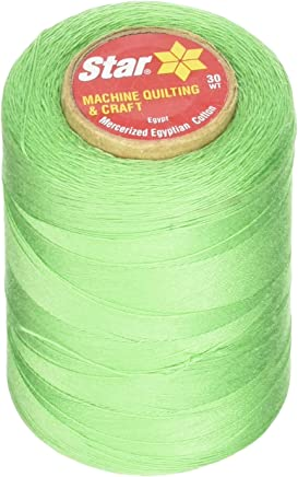 Silver Lining 1200 yd YLI Corporation Star Thread V38-0857 3-Ply 30wt T-35 Cotton Quilting /& Craft Variegated Thread