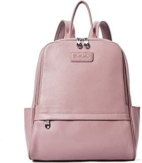 dff022408 Big Sale,BOSTANTEN Women Genuine Leather Backpack Rucksack Ladies Casual  Daypacks Shoulder Bag Purse School