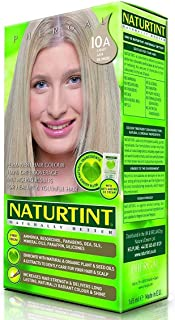 Naturtint Permanent Hair Colorant, with Organic Ingredients, 10A, Light Ash Blonde, 5.4-Ounces (Pack of 2)