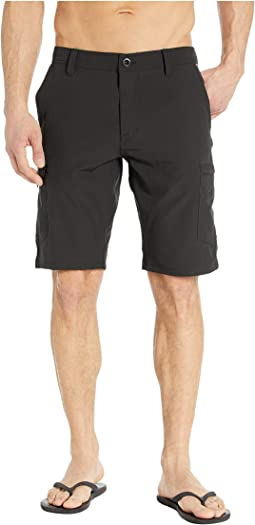 """SNT Dry 21"""" Cargo Shorts"""