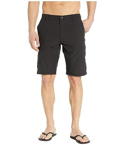Volcom SNT Dry 21 Cargo Shorts (Black) Men
