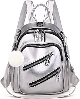 Frauen Rucksack Geldbörse Vegan Leder Mini Rucksack Cute Convertible Kleine Umhängetasche für Mädchen