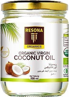 Resona Organic Extra Virgin Coconut Oil, 500 ml