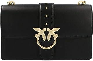 Luxury Fashion | Pinko Womens 1P21JXY5FFZ99 Black Messenger Bag | Fall Winter 19