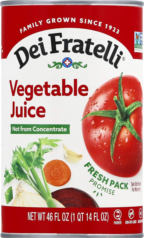 Max 49% OFF Dei Fratelli - Vegetable 6 Juice free Pack 46oz