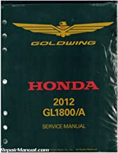 61MCA60 2012 Honda GL1800A/B GoldWing Motorcycle Service Manual