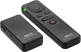 Revo VRS-Multi-W Wireless Multi-Interface Remote Shutter Release and Camera Control for Sony Cameras and Camcorders - Sony Digital Camera Remote Shutter Controller for Zoom, Video, Photo and More