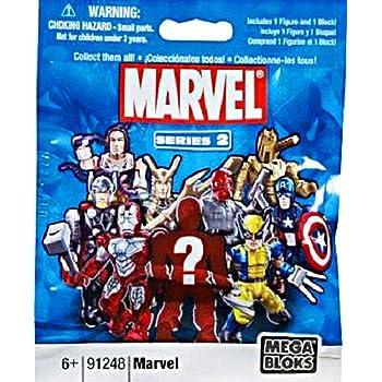 4 packs Mega Bloks  Marvel series 3 91248  new in package Sealed Mini figures