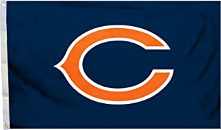 NFL Chicago Bears Logo Only 3-by-5 Feet Flag with Grommets