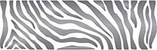 Zebra Stripe Stencil - 35.5 x 11.5cm (M) - Reusable African Animal Wildlife Border Stencils for Painting.