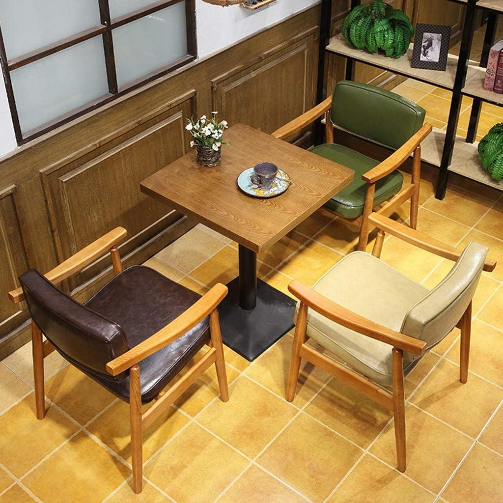 WDX-Chaise de Salle à Manger, Simple Chaise de Bureau, Dossier créatif, Chaise de Loisirs, Maison Adulte Chaise de Salle à Manger Mode Marron
