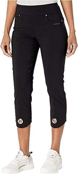 Skinnylicious Mid-Capris Pants with Control Top Panel