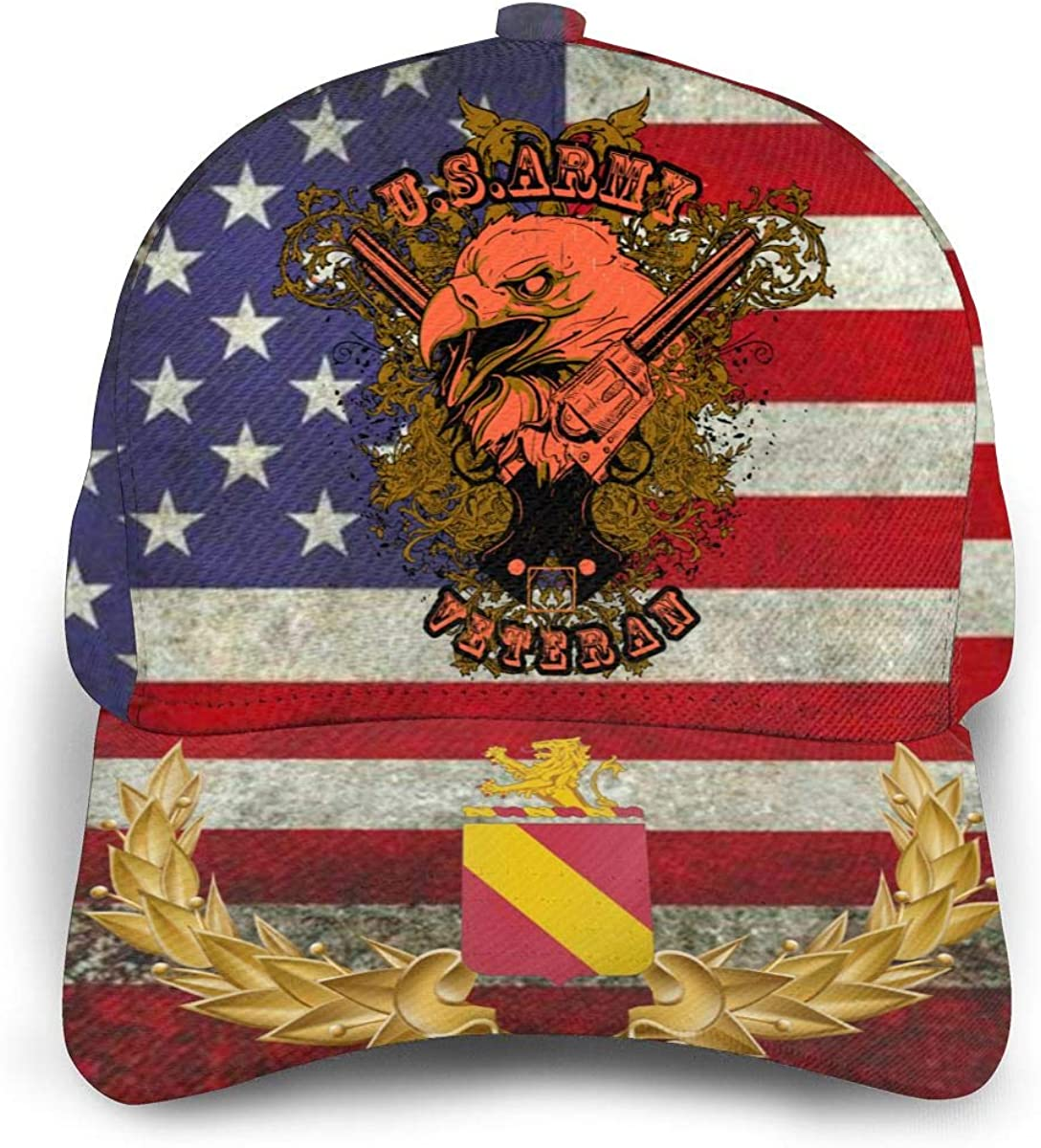 35th Field Artillery Regiment American Eagle Baseball Cap Unisex Outdoor Sun Hat