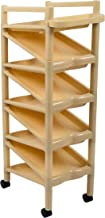 Princeware Zigzag Shoerack with Wheels Ivory (9pair)