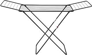 WENKO Séchoir à linge Champion, séchoir à ailes d'une longueur d'étendage de 18 mètres, verrouillage de sécurité pour enfa...