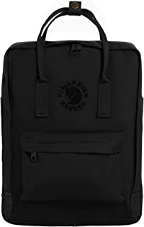 Re-Kanken Recycled and Recyclable Kanken Backpack for Everyday, Black