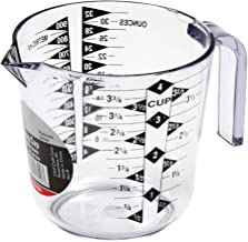 Chef Craft 4-Cup Measuring Cup, Clear