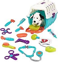 Battat – Dalmatian Vet Kit – Interactive Vet Clinic and Cage Pretend Play for..