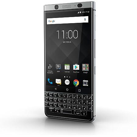 BlackBerry KEYone Black/Silver 32GB 【日本正規代理店品】 BBB100-6 Android SIMフリー スマートフォン QWERTY キーボード PRD-63763-001※メーカー保証対象にご注意ください。セラー出品者からのご購入はメーカー保証が受けられません。