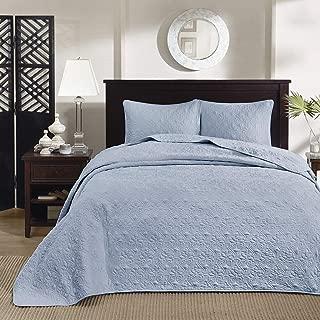Quebec 3 Piece Bedspread Set, King/Cal King