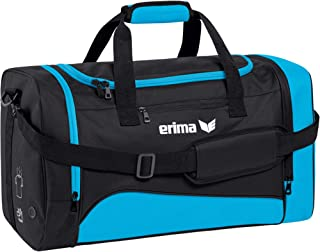 Erima–Bolsa de deporte hombre Curacao/Negro