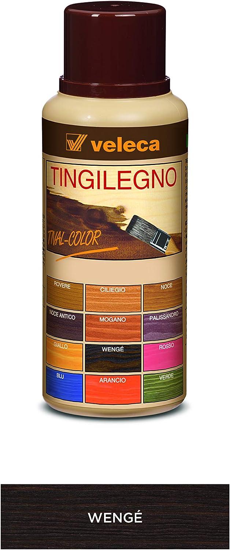 Veleca TIVAL COLOR - Tinte de madera amarillo - 250 ml - Tinte para madera de interior