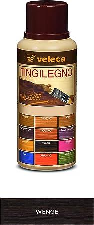 Veleca Tival Color tinte madera caoba – 250 ml – Tinte para madera de interior