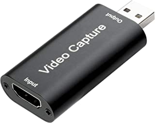 Eagle - Tarjeta de captura de vídeo inteligente HDMI a USB 1080P para PC, TV, PS4, Xbox DSLR y videocámara compatible con Windows Mac OS sistema Android