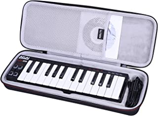LTGEM Hard Case for Akai Professional LPK25 | 25 Key Portable USB MIDI Keyboard Controller for Laptops (Mac & PC)