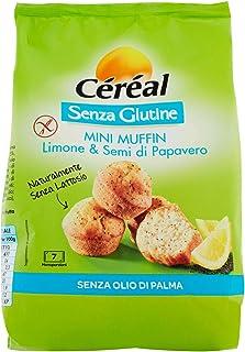 Céréal Mini Muffin Limone e Semi di Papavero - 210 g