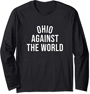 Ohio-Against-The-World Shirt - Never Counted Out - Black Long Sleeve T-Shirt