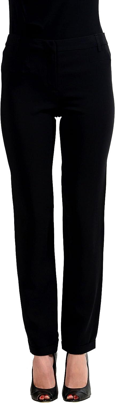 Just Cavalli Women's Black Casual Pants US XS IT 38